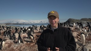 Donna Fraser speaking about balancing her life as a penguin biologist and a mother.