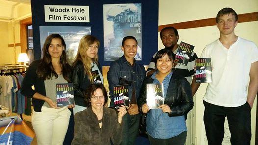 Film Bureau students & staff at the International Woods Hole Film Festival